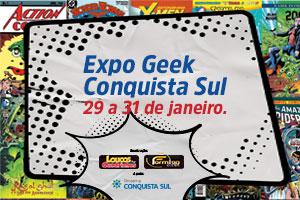 ExpoGeek – Exposição de HQs e Esculturas