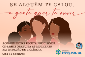 Plantão psicológico (on-line) para mulheres