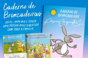 CADERNO DE BRINCADEIRAS DA PÁSCOA