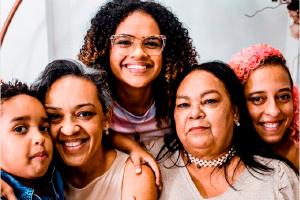Um Dia das Mães com momentos eternizados.