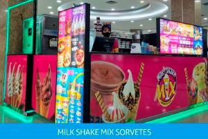 A Milk Shake Mix chegou no Conquista Sul