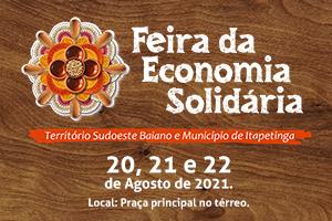 Nova edição da Feira da Economia Solidária